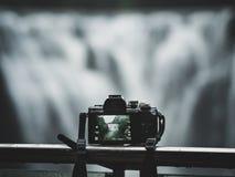 Shifen waterfall at Taiwan royalty free stock photo