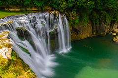 The biggest waterfall in Taiwan Royalty Free Stock Images