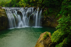 The biggest waterfall in Taiwan Royalty Free Stock Photos