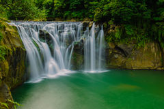 The biggest waterfall in Taiwan Stock Image