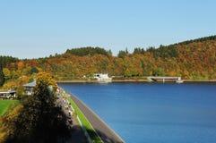 Biggetalsperre το φθινόπωρο Στοκ Εικόνες