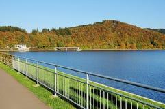 Biggetalsperre το φθινόπωρο Στοκ Φωτογραφία