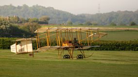 1910 Brisol Boxkite Replica stock photography