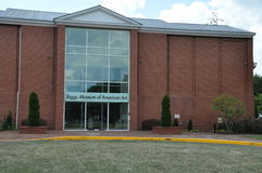 Biggs museum av amerikansk konst, Dover Delaware Arkivfoton