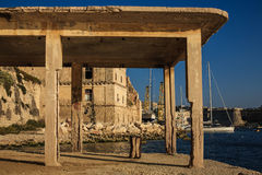Bighi old Royal naval hospital in Kalkara.  stock photography