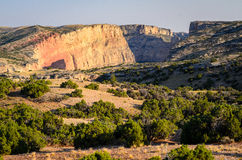 Bighorn Canyon National Recreation Area. Wyoming Stock Photo