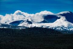 Bighorn Mountain Range Wyoming. Bighorn Loaf Darton Mountains Wyoming Winter royalty free stock images