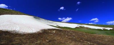 Bighorn Mountains Snow Stock Photo