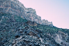 Bighorn Rockscape | Bighorn National Forest, Wyoming, USA Royalty Free Stock Photography