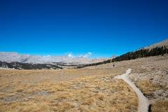 Bighornplateau op John Muir Trail royalty-vrije stock foto's