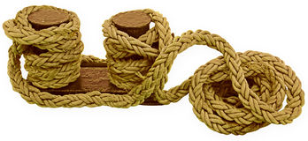 Bight of rope Royalty Free Stock Photo