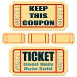 Biglietti Fotografie Stock