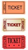 Biglietti Immagini Stock Libere da Diritti