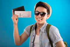 Biglietti al viaggio Fotografia Stock Libera da Diritti