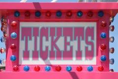 Biglietti da vendere Immagini Stock