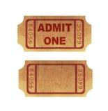 Biglietti del cinematografo Fotografia Stock Libera da Diritti