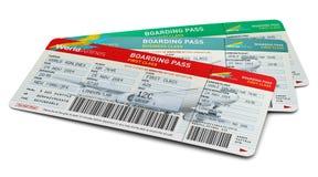 Biglietti di aria Fotografie Stock