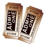 Biglietti di carnevale Immagini Stock