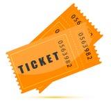 Biglietti di film Fotografia Stock