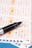 Biglietti di lotteria Immagine Stock Libera da Diritti
