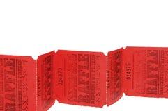 Biglietti di Raffle immagini stock libere da diritti