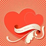 biglietti di S. Valentino background2 Immagini Stock Libere da Diritti