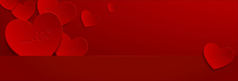 Biglietti di S. Valentino day06 Fotografia Stock Libera da Diritti