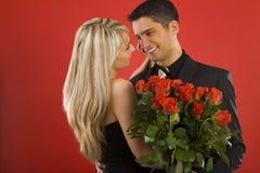biglietti di S. Valentino di giorno Fotografia Stock Libera da Diritti