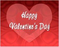 Biglietti di S. Valentino felici illustrazione vettoriale