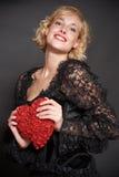 Biglietti di S. Valentino per Yvetta Fotografia Stock