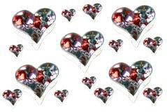 Biglietti di S. Valentino surreali immagine stock libera da diritti