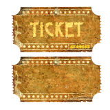 Biglietto Immagini Stock Libere da Diritti