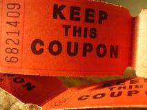 Biglietto fotografia stock
