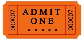 Biglietto illustrazione vettoriale