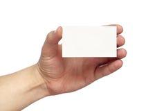 Biglietto da visita Immagine Stock