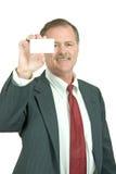 Biglietto da visita Fotografia Stock