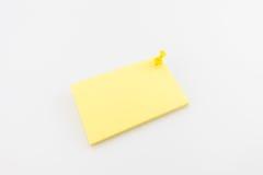 Biglietto da visita in bianco con le ombre molli Fotografia Stock Libera da Diritti
