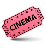 Biglietto del cinematografo Fotografie Stock