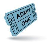 Biglietto dell'entrata Immagine Stock Libera da Diritti