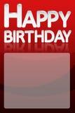 Biglietto di auguri per il compleanno felice con spazio per testo Immagini Stock
