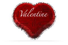 Biglietto di S. Valentino Immagini Stock