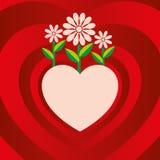 Biglietto di S. Valentino Immagini Stock Libere da Diritti