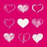 Biglietto di S. Valentino 02 Fotografie Stock Libere da Diritti