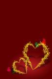 Biglietto di S. Valentino 7 illustrazione vettoriale