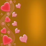 Biglietto di S. Valentino illustrazione vettoriale