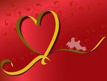 Biglietto di S. Valentino Immagine Stock Libera da Diritti