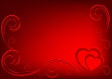 Biglietto di S. Valentino background3 Immagine Stock Libera da Diritti