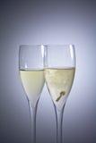 Biglietto di S. Valentino del regalo Fotografie Stock Libere da Diritti