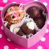 Biglietto di S. Valentino dolce fotografie stock libere da diritti