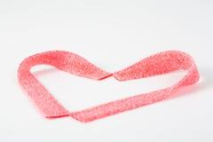 Biglietto di S. Valentino dolce Fotografia Stock Libera da Diritti